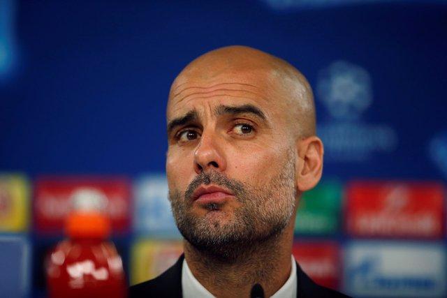 Pep Guardiola, entrenador del Bayern Múnich