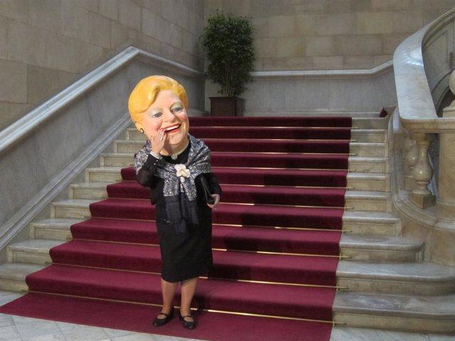 """La """"Grossa"""" en el Parlament."""