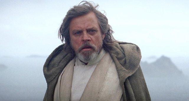 Luke Skywalker en Star Wars El despertar de la Fuerza