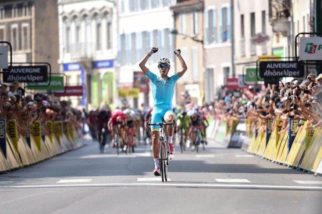 Fabio Aru gana la tercera etapa del Dauphiné Liberé