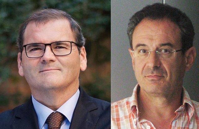 Jose Manuel Pastor y Carlos Peraita
