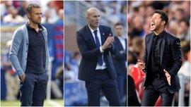 Luis Enrique, Zidane y Simeone, candidatos a Entrenador de la FIFA