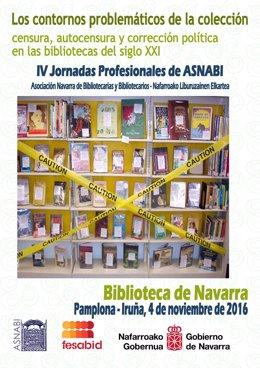 Cartel de las IV Jornadas Profesionales de ASNABI