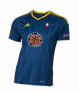 Camiseta del Celta homenaje al 110 aniversario de Estrella Galicia