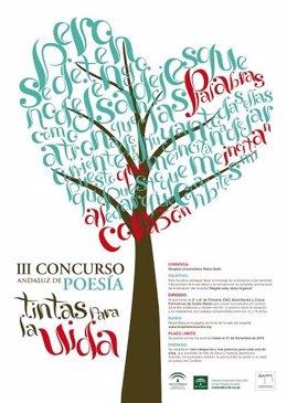 Cartel del concurso de poesía del Reina Sofía