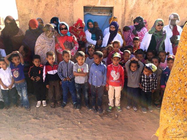 Nueva guardería para niños saharauis gracias a cooperación en Andalucía