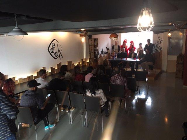 Presentación de Microteatro Sevilla
