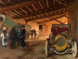 La Gothsland Galeria d'Art repasa la trayectoria de Ramon Casas en una exposición