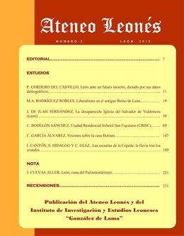 Imagen de la revista Ateneo Leonés.