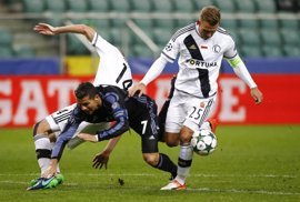 El Real Madrid se enreda en Varsovia