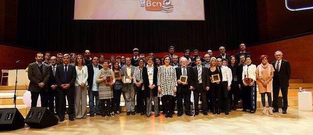 Ada Colau en los Premis Comerç y Premis Mercats de Barcelona