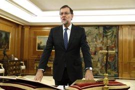 Rajoy comunicará al Rey su Gobierno hoy a las 18 horas y después lo hará público