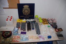 Intervienen un alijo de drogas destinado a consumidores de zonas de ocio de Torremolinos