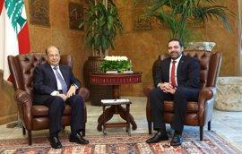 """Hariri apuesta por un gobierno de """"acuerdo nacional"""" y confía en cerrarlo pronto"""