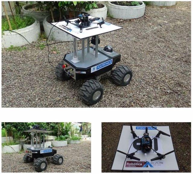 Investigadores crean un robot para el control de cultivos en invernaderos