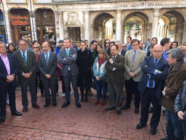 Concentración en Burgos