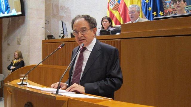 El presidente de la Cámara de Cuentas de Aragón, Antonio Laguarta