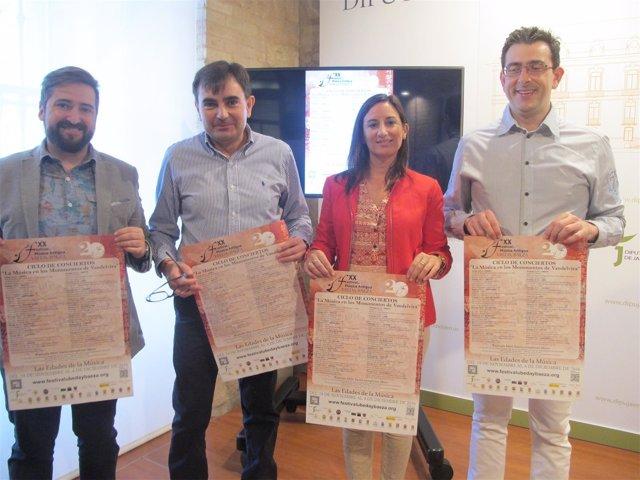Presentación 'La música en los monumentos de Vandelvira'