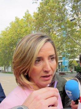 Alicia García, consejera de Familia e Igualdad.