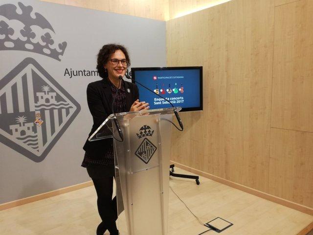 La concejala de Participación Ciudadana y Coordinación Territorial, Eva Frade