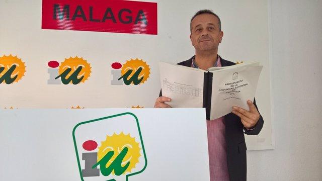 José Antonio Castro coordinador provincial IU secretario mesa parlamento
