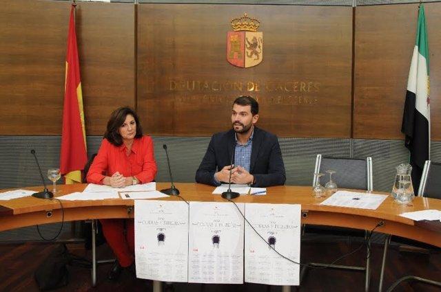 Presentación del programa 'Por coplas y bulerías' de la Diputación de Cáceres