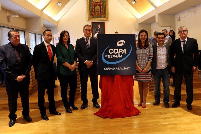 Presentación de la edición 2017 de la Copa de España de fútbol sala