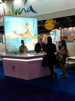 Almería se promociona en la 'World Travel Market' de Londres.