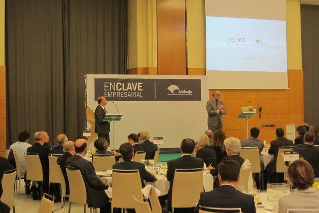 Encuentro 'Enclave empresarial' de Unicaja Banco con José María O'Kean