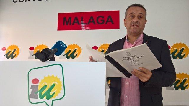 José Antonio Castro parlamentario IULVCA maálaga secretario parlamento