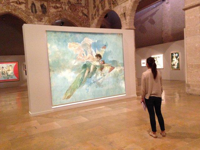 Una de las obras expuestas en la exposición 'El desnudo en la obra de Pinazo'
