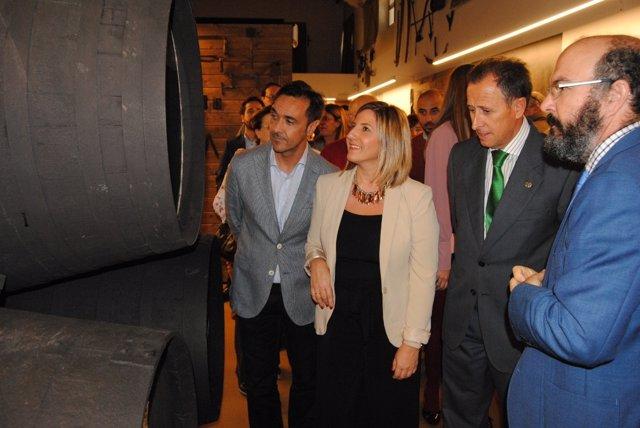 Inauguración Centro Interpretación del Vino y la Sal en Chiclana