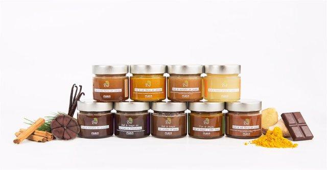 Productos 'Bio Muria' que se han exportado a Hong Kong