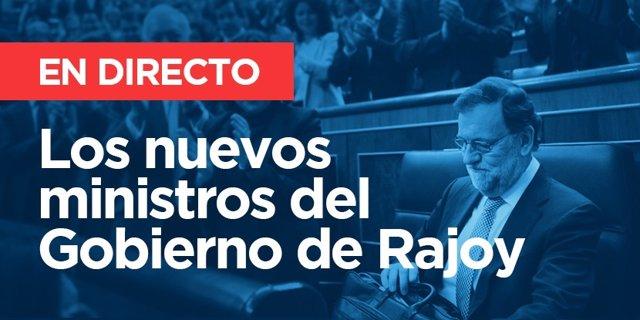 Ministros del Gobierno de Rajoy 2016 | Directo