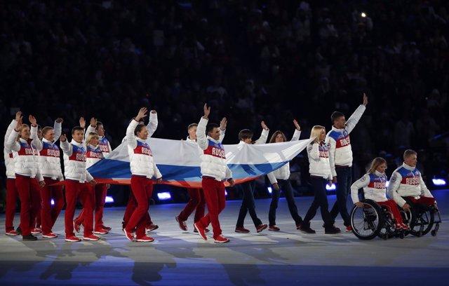 Equipo paralímpico ruso