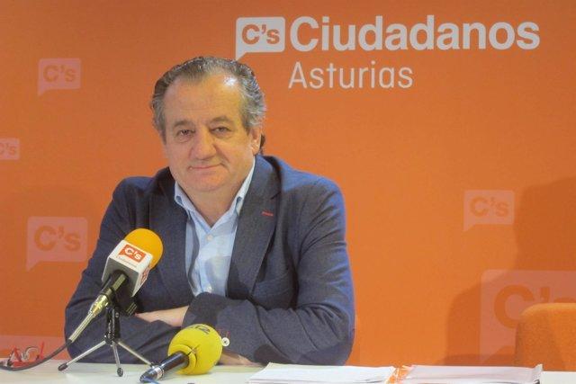 Nicanor García, portavoz de Ciudadanos Asturias