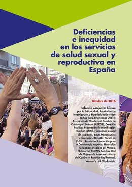 Informe de salud sexual y reproductiva