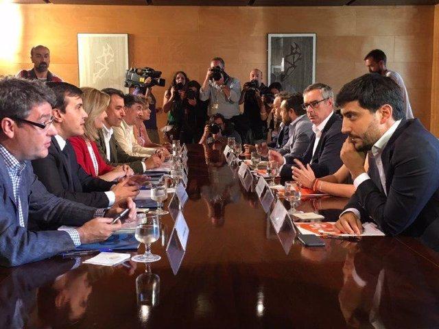 Álvaro Nadal y Toni Roldán y el resto de negociaciones de PP y C's