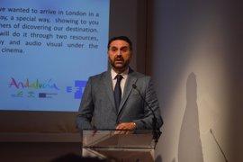 Andalucía se muestra en Londres como importante destino de rodajes