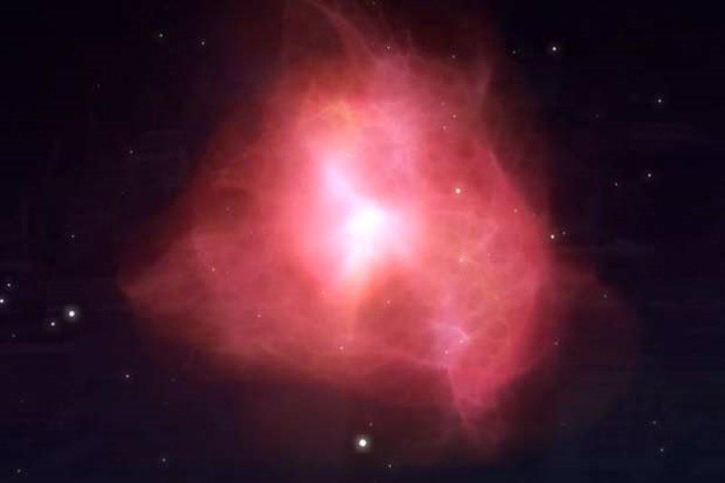 Una nube masiva de gas, en rumbo de colisión con la Vía Láctea