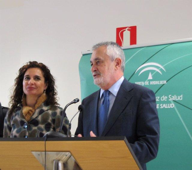En La Imagen, José Antonio Griñán Y María Jesús Montero