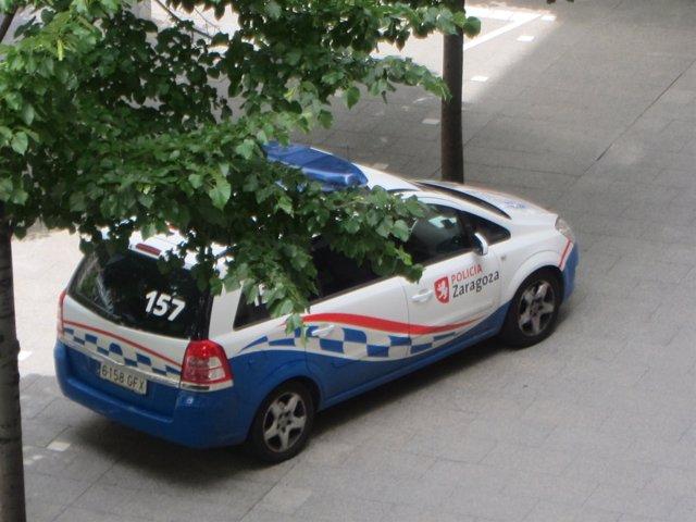 Coche de la Policia de Zaragoza