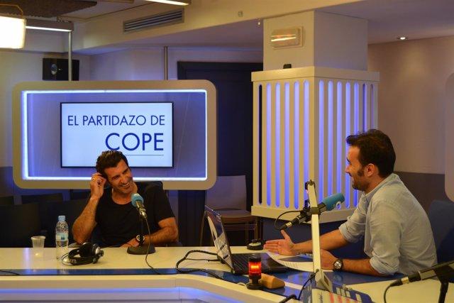FIgo en una entrevista con COPE