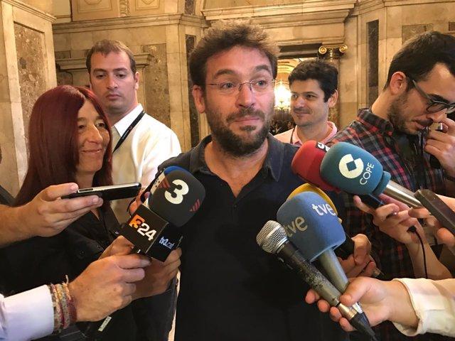 El diputado de SíQueEsPot en el Parlament, Albano-Dante Fachin