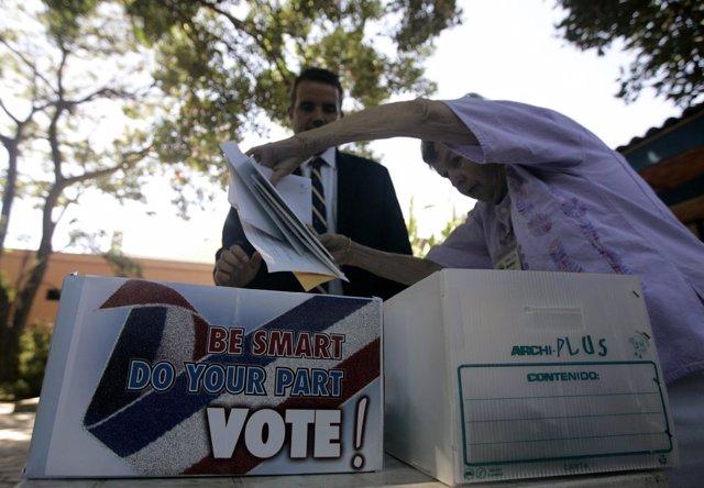 Voto EEUU México
