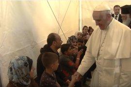 El Papa Francisco pide apoyo para los países que acogen un gran número de refugiados