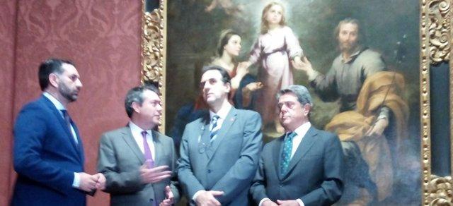 Presentación en Londres del 'Año Murillo' de Sevilla