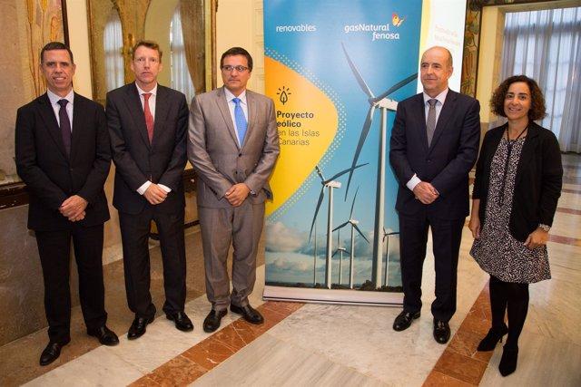 Gas Natural Fenosa Renovables presentó este viernes sus proyectos en Canarias