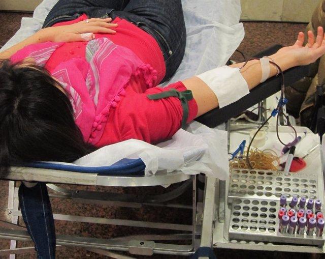 Donación, Donante, Sangre