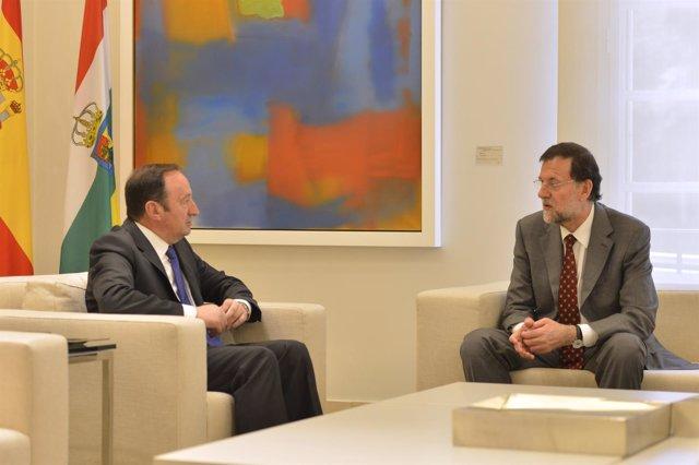 Mariano Rajoy Y Pedro Sanz